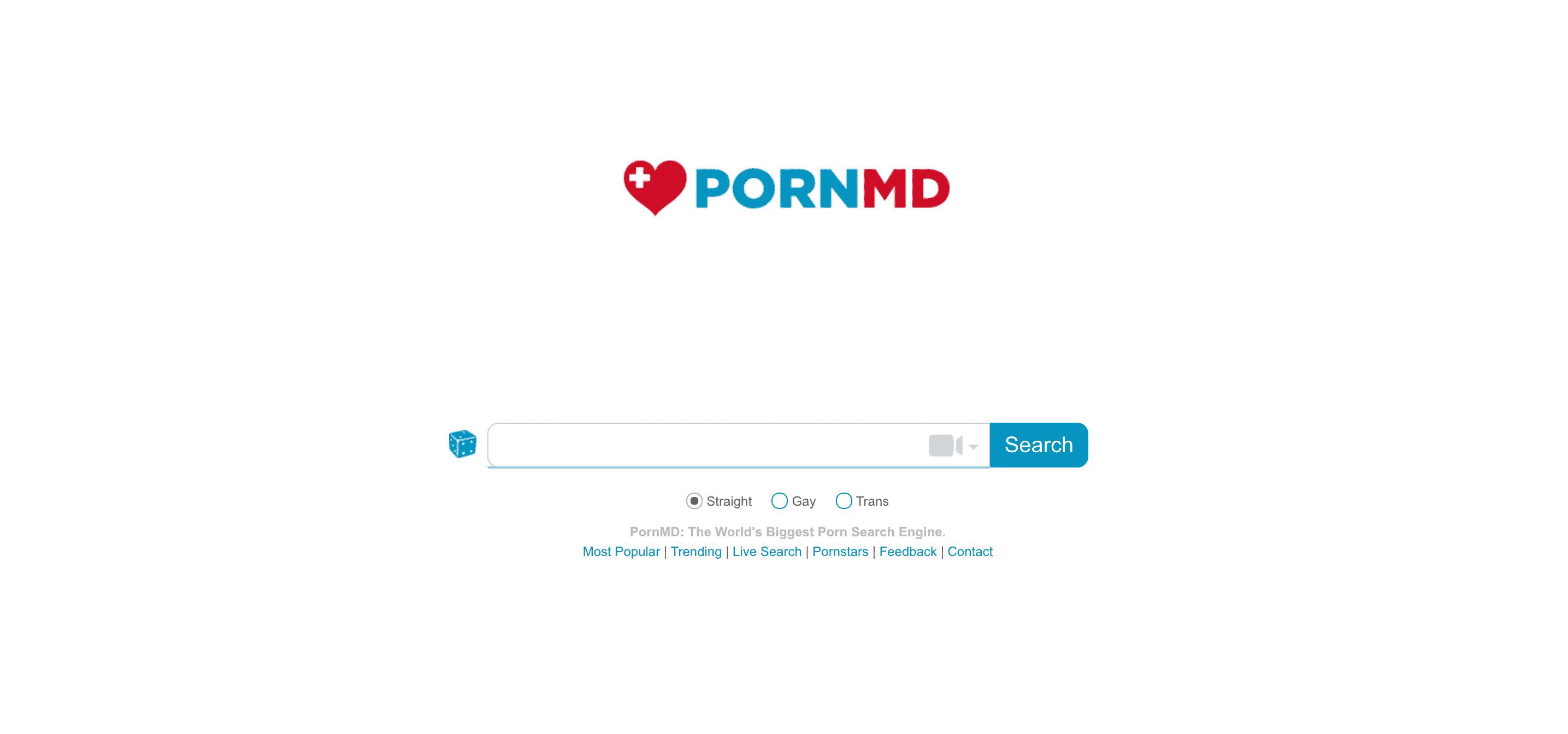PornMD.com ist eine kostenlose Porno-Suchmaschine mit angeschlossener Sextube
