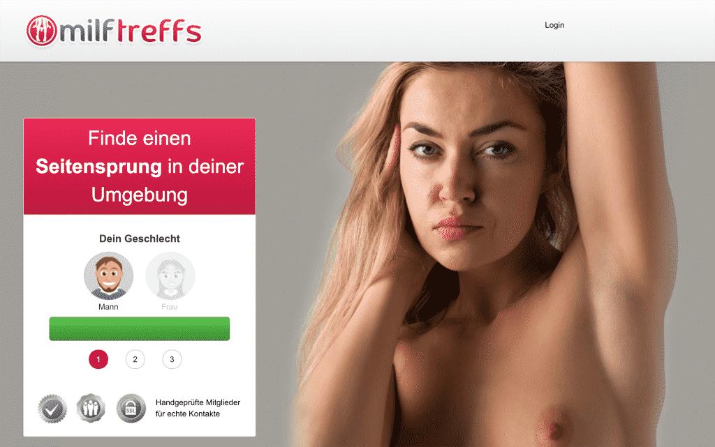 MILFs und reife Frauen lernst du auf milftreffs.com im Handumdrehen kennen
