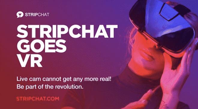 Stripchat bietet ab sofort VR Livecams an